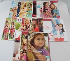 American Girl Catalog Lot of 21 Issues between March 2015 to November 2018