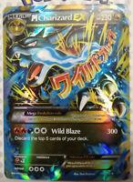 Pokemon card M Charizard EX 108/106 HOLO Flashfire PROXY Card /Read Description