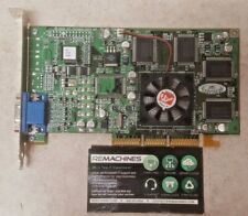 ATI Radeon AGP VGA Video card 109-70600-00 R6 70601 DDR SG32M TESTED FREE SHIP