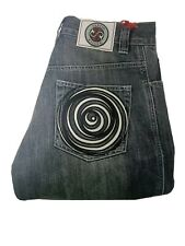 Sartso Killer Motorcycle Jeans Womens Size 28W 32L Spiral Grey Made With Kevlar