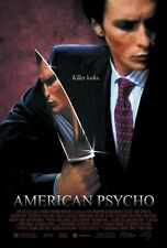 American Psycho movie poster 11 x 17 inches : Christian Bale poster (Style a)
