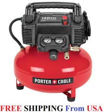 Porter-Cable C2002 150 PSI 6 Gallon Oil-Free Pancake Air Compressor