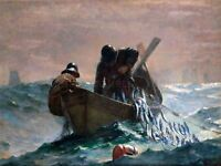 Winslow Homer Herring Net Old Master Art Painting Picture Canvas Art Print