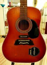 Wolfgang Hüttl Folkamp Pickup Vintage old Guitar Alte Akustische Western Gitarre