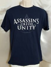 Assassin's Creed Unity T-shirt Navy Blue Men's Size Large