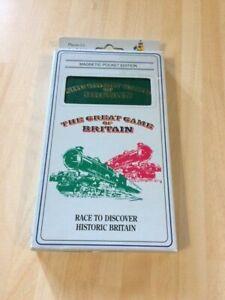 Vintage The Great Game Of Britain Magnetic Pocket Edition Vintage Game