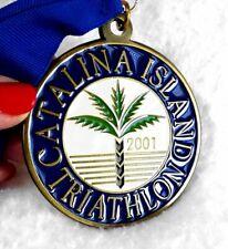 Catalina Island Triathlon Finisher Medal 2001 3-inch Dia