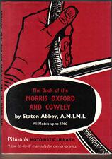 Morris Oxford & Cowley post war models up to 1966 inc. traveller Pitman book
