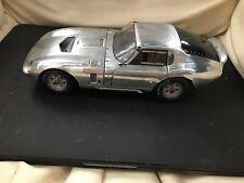 Exoto 1/18 Scale - RLG18008 Cobra Daytona 1964 Test Mule Satin Aluminum Finish