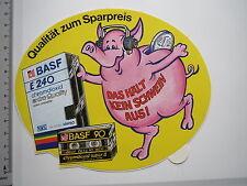 Adesivo sticker BASF e240 video cassette culto Oldtimer (m1963)
