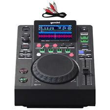 Gemini MDJ-500 USB MP3 MIDI DJ Deck Media Player Controller + 24-bit Soundcard