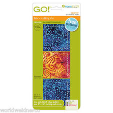 "AccuQuilt GO! & Baby Fabric Cutter Cutting Die Square-3"" (2 1/2"" Finished) 55256"