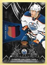 12/13 Anthology Crown Royale Lords Of The NHL Taylor Hall 3 Color Jersey #22/25