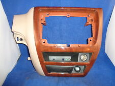 Ford Taurus Mercury Sable Wood Trim Radio Moulding Center Console Dash Surround