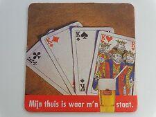 Beer Collectible Bierdeckel Coaster ~ STELLA ARTOIS Belgian Brewery >< Card Game