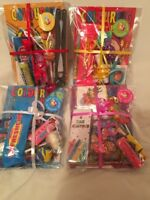 Pre filled ready made kids party bags / parcels - wedding favour