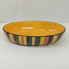 "Tabletop Lifestyle Hand Painted 14"" Serving Dish"