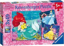 Ravensburger Disney Princess Adventure 3 x 49 pc 5+