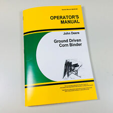 John Deere Operators Manual, Tractor Manuals & Books at Farm and Forest