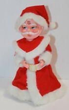 Vintage Music & Motion Santa Claus Christmas Figure