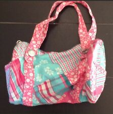 The Children's Place Madras Patchwork Purse Tote Girls