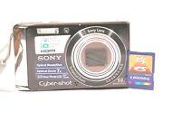 Sony Cyber-shot DSC-W370 14.1MP Digital Camera - Black