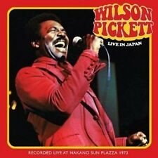 Wilson Pickett Live In Japan 2-CD NEW SEALED 2014 Soul In The Midnight Hour+