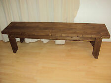 Quality Handmade Garden-kitchen-Dining-utility Wooden Bench Sturdy And Solid 5FT