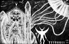 """Satanic Refuel"" H.P. Lovecraft Satanic inspired 11x17 Poster"