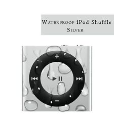 Waterproof Apple iPod shuffle newest generation 2GB Silver BRAND NEW.