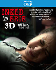 Inked in Erie - Tattoo Reality TV Show - Filmed In Real 3D - Blu-Ray 3D Blu ray