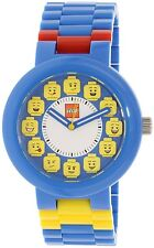 Lego Men's 9008023 Blue Plastic Quartz Watch
