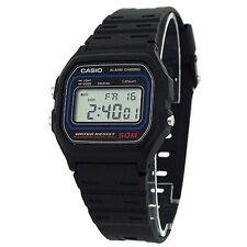 Casio Genuine Original W-59 50M WR Alarm Digital Retro Mens Watch W59 New In Box