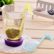 Music Note Convenience Tea Strainer Spoon Teaspoon Infuser Diffuser Filter Yw