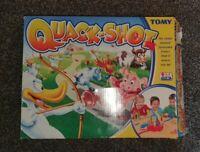 QUACK-SHOT Electronic Board Game Vintage 90s Tomy Kids Toy Rare