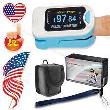 OLED Oximeter Pulse fingerTip Monitor Blood Oxygen SpO2+CASE CMS50N