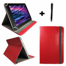 10.1 zoll Tablet Tasche Schutz Hülle Etui Acer Iconia Tab A200 Case Rot 10