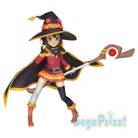 KonoSuba Megumin Figure Witch Outfit PVC Statue Sega Anime Statue Japan NEW