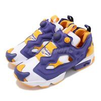 Reebok Insta Pump Fury OG MU White Purple Yellow Men Running Shoe Sneaker DV8291