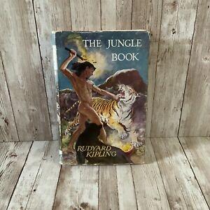 Vintage The Jungle Book - Rudyard Kipling 1960s Illustrated Hardback Book