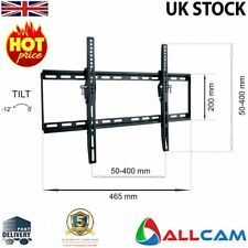 TV Wall Mount Bracket LCD LED Tilt Plasma 26-Inch to 55-Inch Ultra Slim Panel