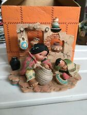 """enesco friends of the feather figurines: """"Friend of the Earth�"""