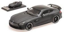 Almost Real ALM420710 - Mercedes AMG GT R 2017 LEATHER MATT BLACK  1/43