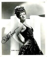 CLAIRE TREVOR Signed Vintage Photo