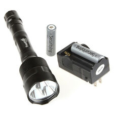 Trustfire 3800Lm 3 X CREE XM-L T6 LED Flashlight Torch + Batteries + Charger