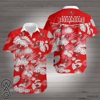 Sports TAMPA Football  Spider-Bay BUCCANEERS-Skull Tropical Hawaiian Shirt