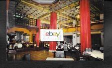 MIRAMAR HOTEL HONG KONG,CHINA HOTEL ISSUE 1950'S CHINESE RESTAURANT POSTCARD