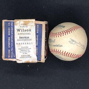 1940's Vintage Wilson American Association Minor League Baseball w/ BOX & SEAL!!