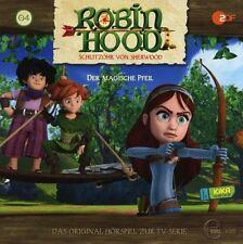 ROBIN HOOD-SCHLITZOHR VON SHERWOOD - HÖRSPIEL (4): DER MAGISCHE PFEIL CD NEU
