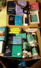First Aid  Spares Dressings Nitrile Gloves  Plasters Refill Kit burn gels medics
